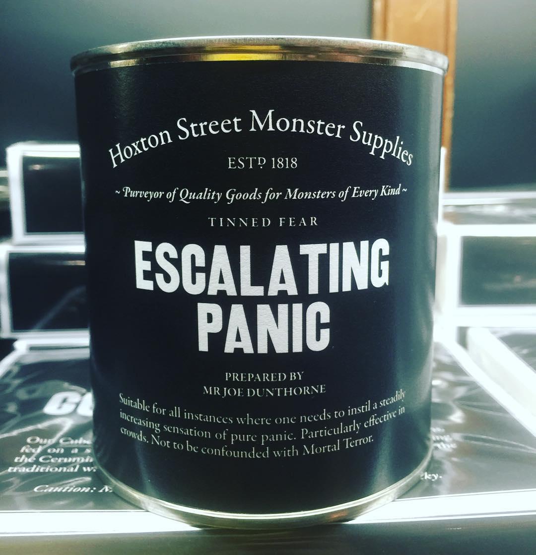 escalating-panic-hoxton-monster-supplies