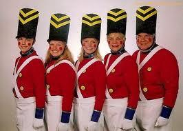 queensguard uniform christmas picture