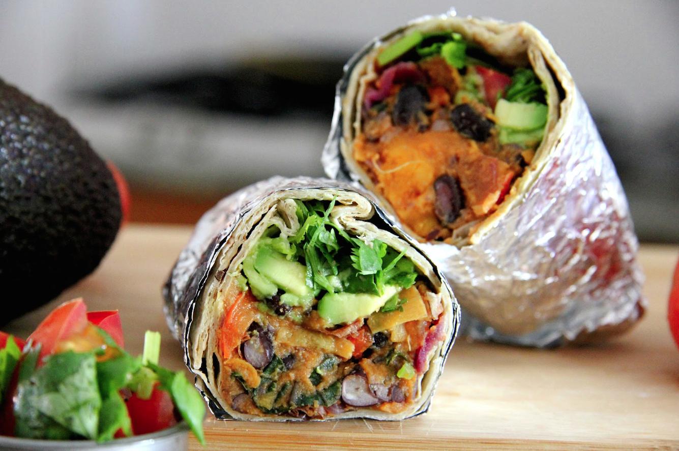 Summer Burrito Recipe — Dishmaps
