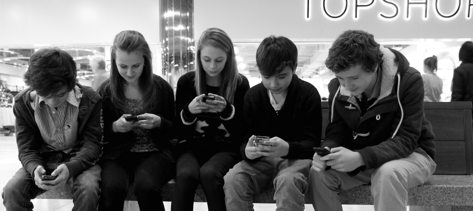 Young people in the digital age