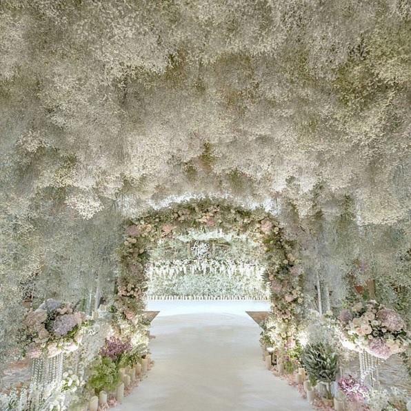 foral wedding
