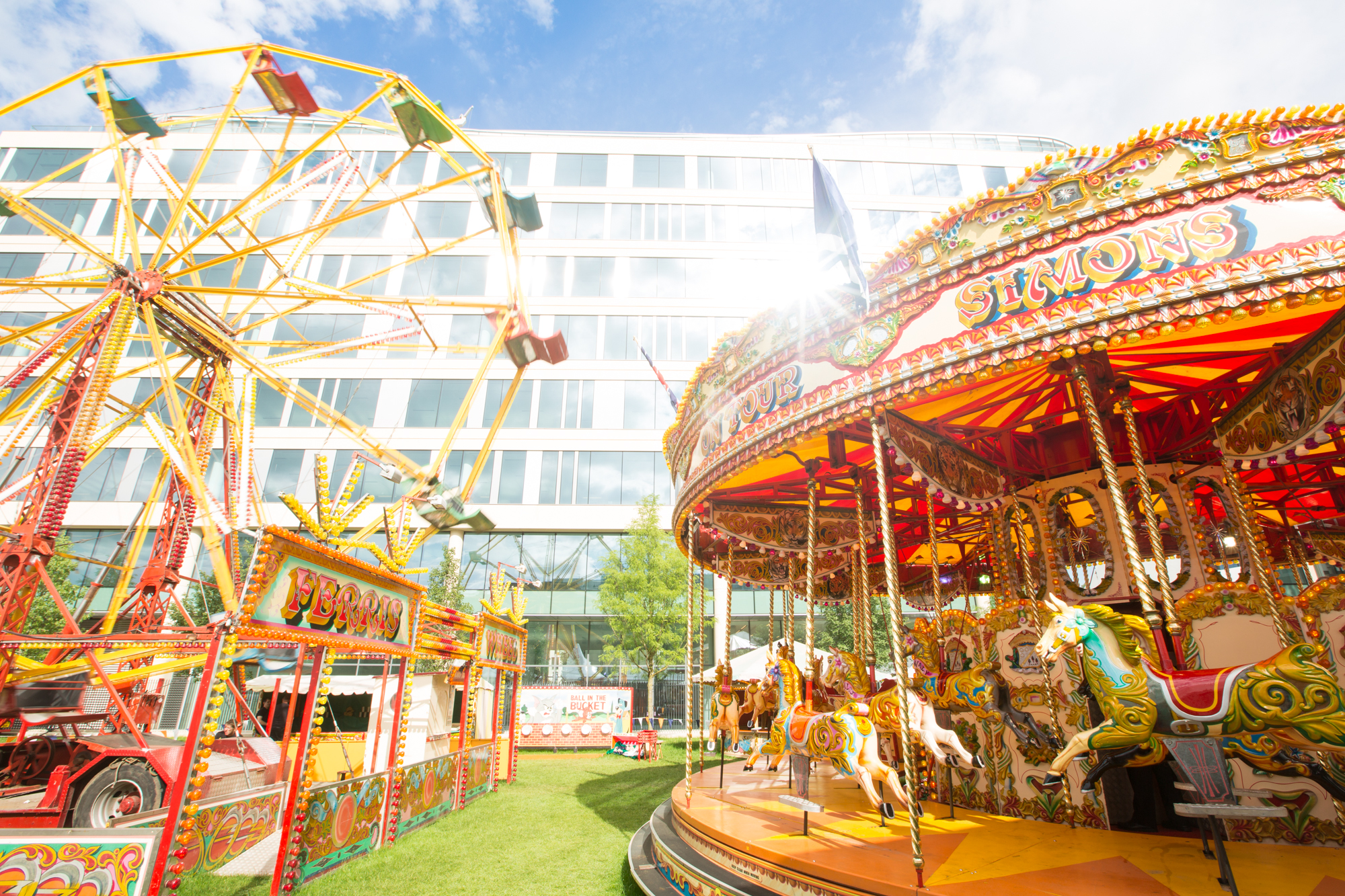 Outdoor Summer Parties London