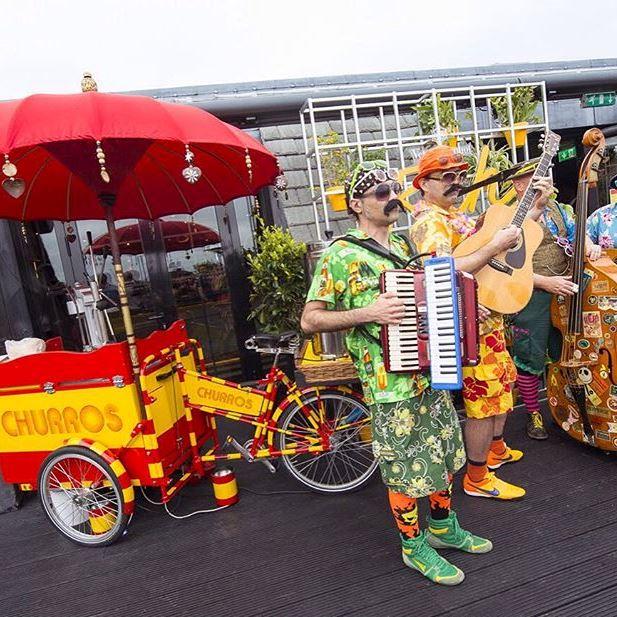 Spanish themed summer party at Aqua Nueva