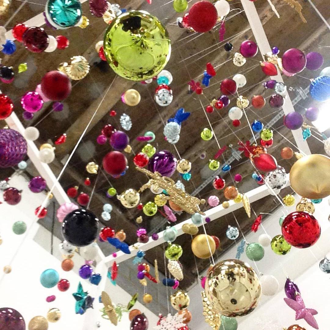 A christmas bauble installation we produced for#Argosxmas