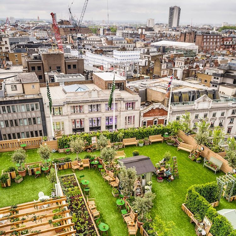 London Rooftop bars