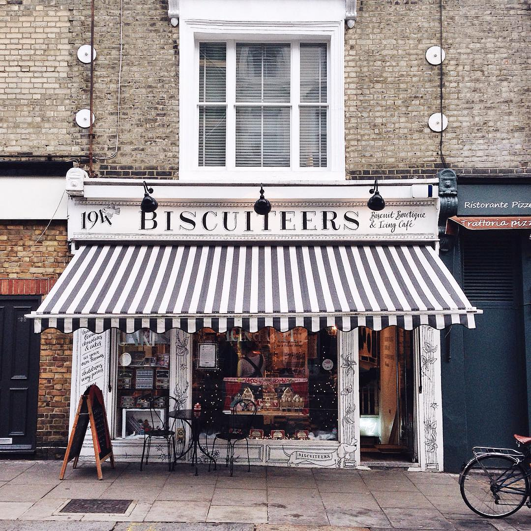 London's Best Cafes - Biscuiteers