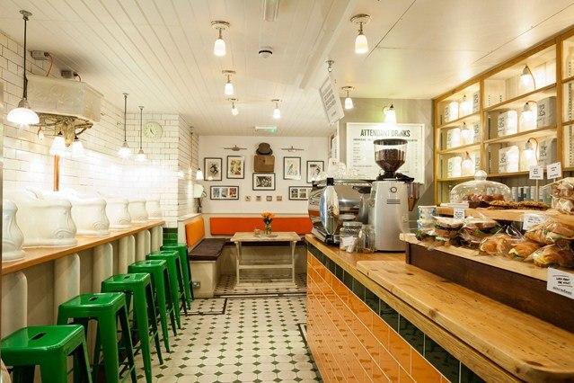 London's best café's - Attendant