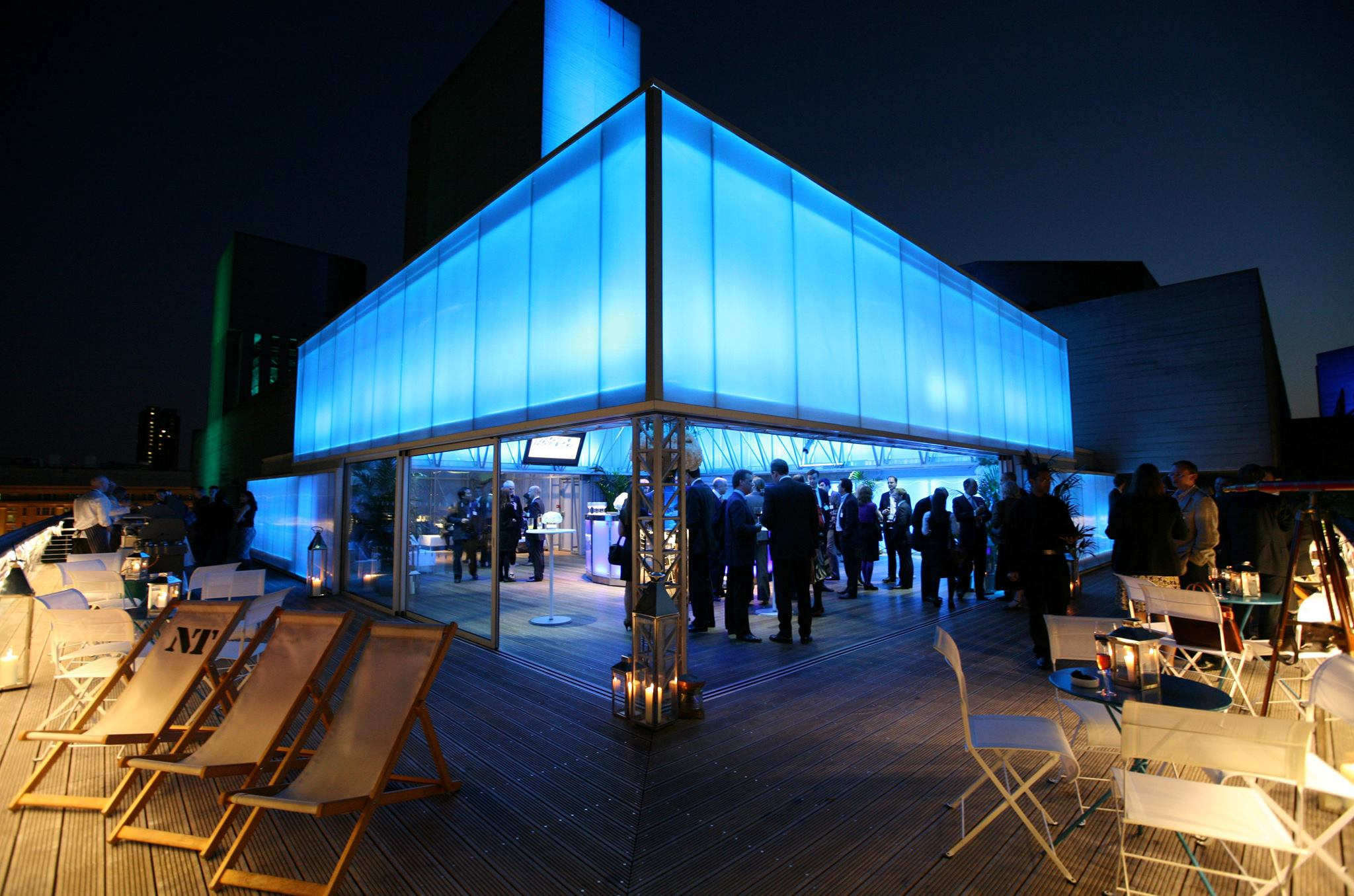 the deck at the national theatre London's best venue with a view