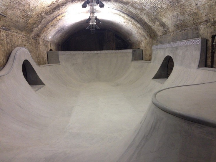One-of-a-kind venues in London- skaters paradise