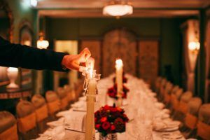Bespoke Christmas party at the Dorchester