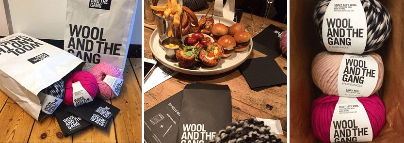 Knitter Natter | Bespoke Events with Wool and the Gang