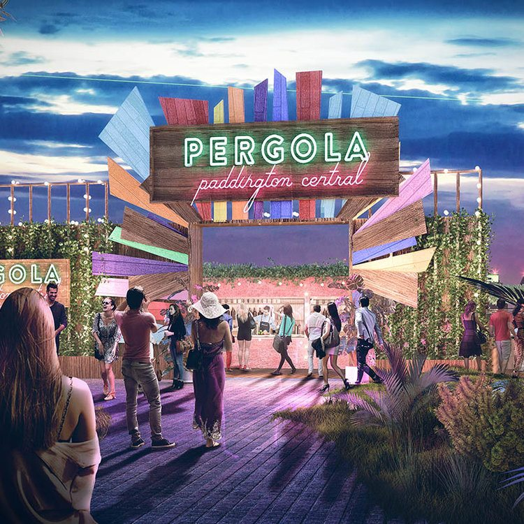 Pergola on the Roof - Paddington - what we lpove April 2017 | Mask Events