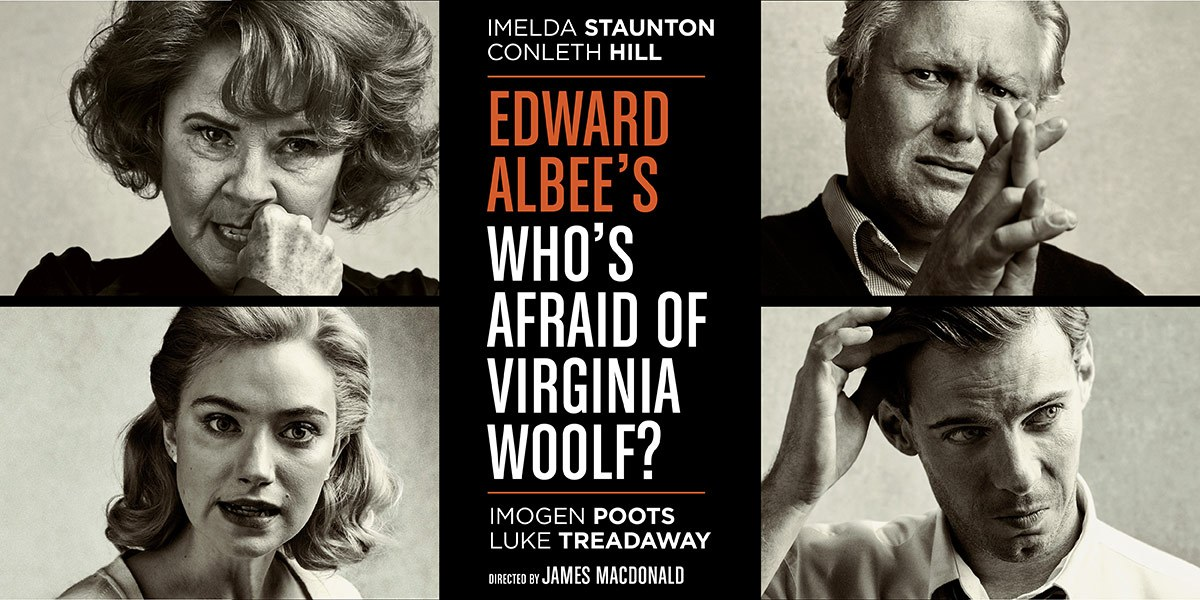 whos afraid of virginia wolf Who's afraid of virginia woolf, virginia woof, virginia woolf ha, ha, ha, ha (no reaction) what's the matter didn't you think that was funny hunh.