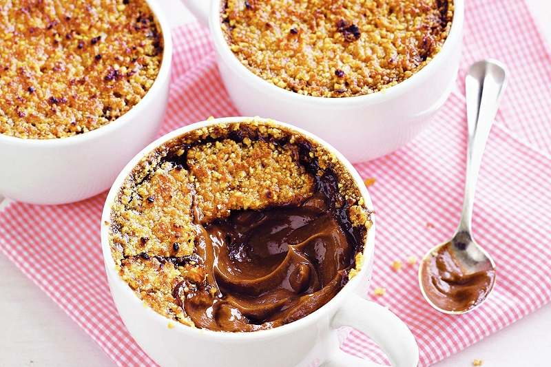 chocolate creme brulee - chocolate desserts